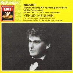 Mozart: Violin Concertos KV216 KV271a KV294a