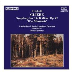 GLIERE : Symphony No. 3 In B minor, Op. 42,