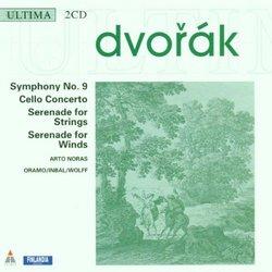 Dvorak: Symphony No 9; Cello Concerto; Serenade for Strings; Serenade for Winds
