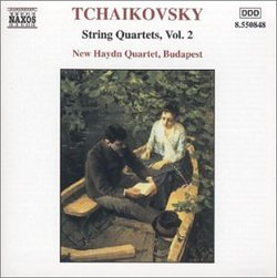 Tchaikovsky: String Quartets, Vol. 2