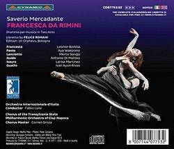Saverio Mercadante: Francesca da Rimini