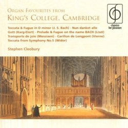Organ Favorites from King's College, Cambridge