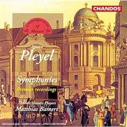 Pleyel: Symphony In C/Symphony In G/Symphony In D