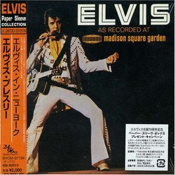 Elvis as Recorded at Madison Square Garden ( Paper Sleeve Collection Mini LP 24 bit 96 khz )