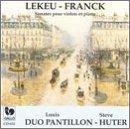 Guillaume Lekeu, Cesar Franck: Sonates pour violon et piano