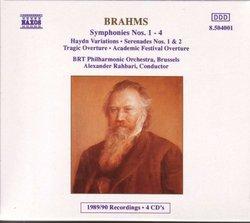 Brahms: Symphonies Nos. 1-4 (Box Set)