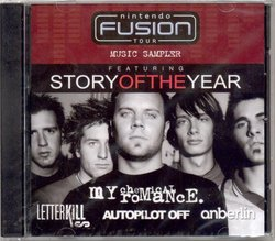 Nintendo Fusion Tour Music Sampler: Story Of The Year, My Chemical Romance, Letter Kills, Autopilot Off, Anberlin