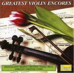 Greatest Violin Encores