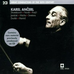 GREAT CONDUCTORS 20TH CENTURY - KARL ANCERL