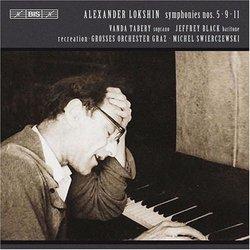 Alexander Lokshin: Symphonies Nos. 5, 9, 11
