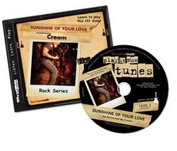 "Play-it-Now Tunes: Audio CD Guitar Lesson for ""Sunshine Of Your Love"" by Cream"