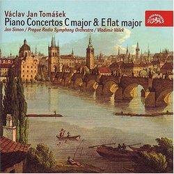 Václav Jan Tomásek: Piano Concertos in C major and E major