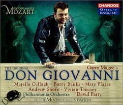 Mozart - Don Giovanni / Garry Magee · Cullagh · Banks · Plazas · Shore · Tierny · PO · David Parry