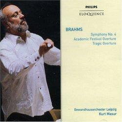 Brahms: Sym No 4 / Overtures