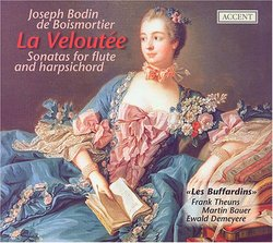 Joseph Bodin de Boismortier: La Veloutée: Sonatas for flute & harpsichord