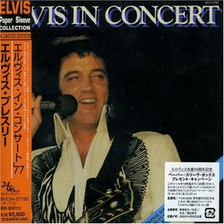Elvis in Concert ( Paper Sleeve Collection Mini LP 24 bit 96 khz )