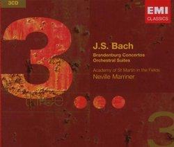 J. S. Bach: Brandenburg Concertos; Orchestral Suites
