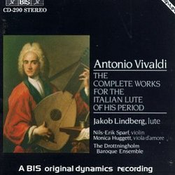 Vivaldi: Complete Works for Italian Lute