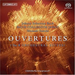 Bach: Overtures / Ouvertures: The 4 Orchestral Suites [Hybrid SACD]