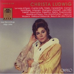 Christa Ludwig: Live Recordings, 1955-1994