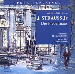 An Introduction to J. Strauss, Jr.'s Die Fledermaus