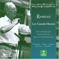 Rameau - Les Grands Motets / Daneman, Rime, Agnew, Rivenq, Cavallier, Les Arts Florissants, Christie