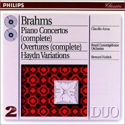Brahms: Piano Concertos (complete); Overtures (complete); Haydn Variations