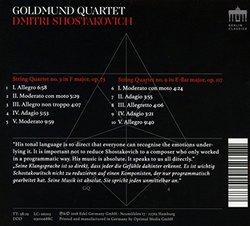Shostakovich: String Quartets Nos. 3 & 9
