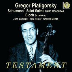 Schumann, Saint-Saëns: Cello Concertos; Bloch: Schelomo