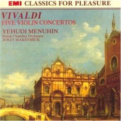 Five Violin Concertos