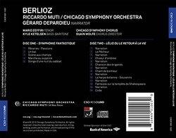 Berlioz: Symphonie fantastique - Lélio, ou le retour de la vie