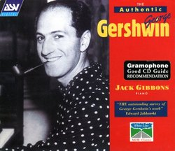 The Authentic George Gershwin [Box Set]