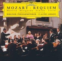 Mozart - Requiem / Mattila, Mingardo, Schade, Terfel, Berlin Phil., Abbado