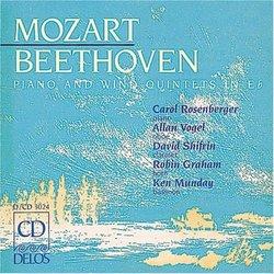 Beethoven : Quintet,Op.16 / Mozart: Quintet, K.452