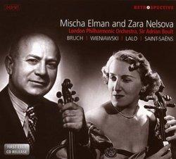 Mischa Elman and Zara Nelsova Perform Bruch, Wieniawski, Lalo & Saint-Saëns