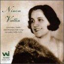 Ninon Vallin sings Canciones, Lieder and Peruvian Folk Songs