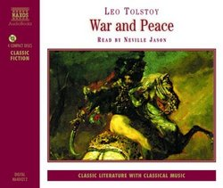 War and Peace (Abridged 4 CDs)