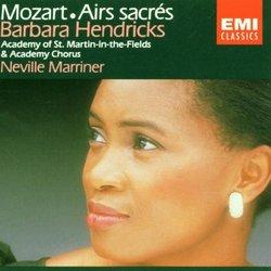 Mozart: Airs Sacrés/Sacred Arias