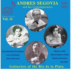 Andres Segovia and His Contempories, Vol. 11: Guitarists of the Rio de la Plata [3 CDs + DVD]