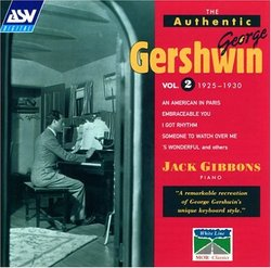 Authentic George Gershwin 2