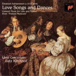 """Emanuel Adriaenssen: Love Songs and Dances from """"Pratum Musicum"""""""