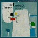 Paul Hindemith: Complete String Quartets, Vol. 1 (No. 1, Op. 2 & No. 5, Op. 32) - Sonare Quartett