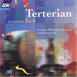Terterian: Symphony Nos. 3 & 4