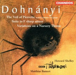 Dohnányi: Veil of Pierrette/Suite/Variations on a Nursery Theme