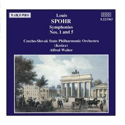 SPOHR: Symphonies Nos. 1 and 5