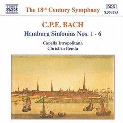 CPE Bach: Hamburg Sinfonias