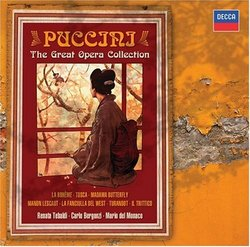 Puccini - The Great Opera Collection [Box Set]