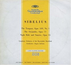 Sibelius: The Tempest; The Oceanides; Night Ride and Sunrise