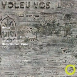 """Henze: """"Voices""""  by London Sinfonietta, Henze cond."""