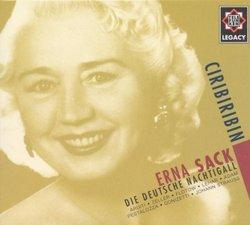 Erna Sack (Die Deutsche Nachtigall) : Ciribiribin